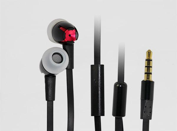 金属免提手机耳机LS-EM-048
