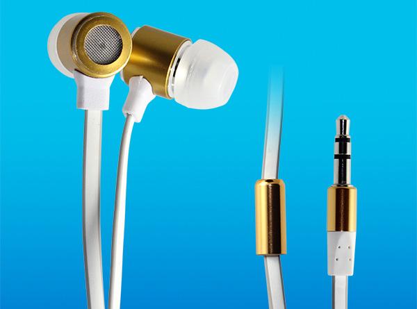 扁线金属入耳式耳机LS-EJ-067