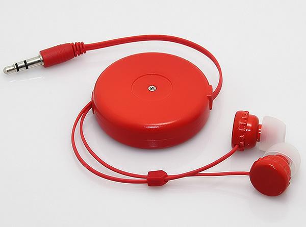 入耳式伸缩线耳机LS-ES-016 独特双向拉伸设计