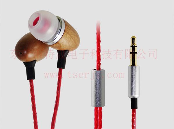 MP3木头耳机LS-EMT-002