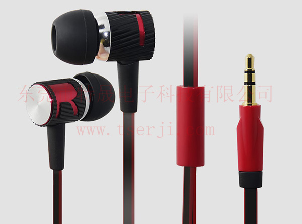面条线金属耳机LS-EJ-092