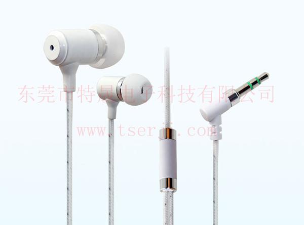 LS-EJ-102 蛇皮线入耳式金属耳机