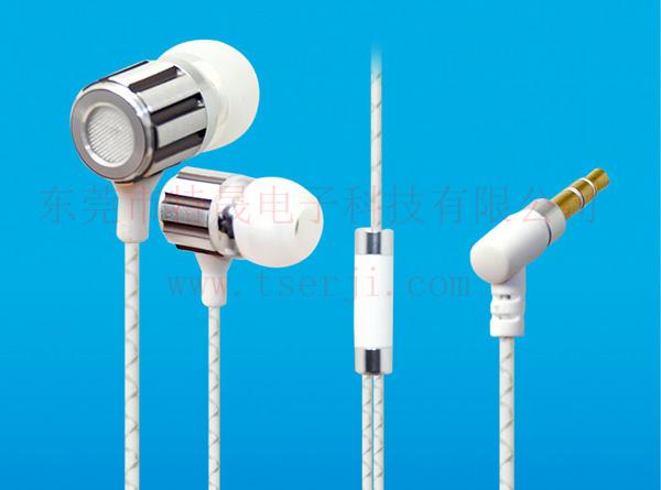 LS-EJ-101 入耳式金属耳机 TPE花线