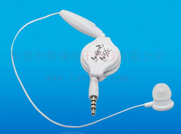 LS-ES-022 单耳带麦手机免提语音耳机