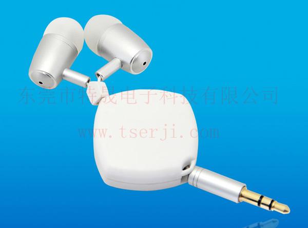 LS-ES-023B 入耳式双向拉神线耳机