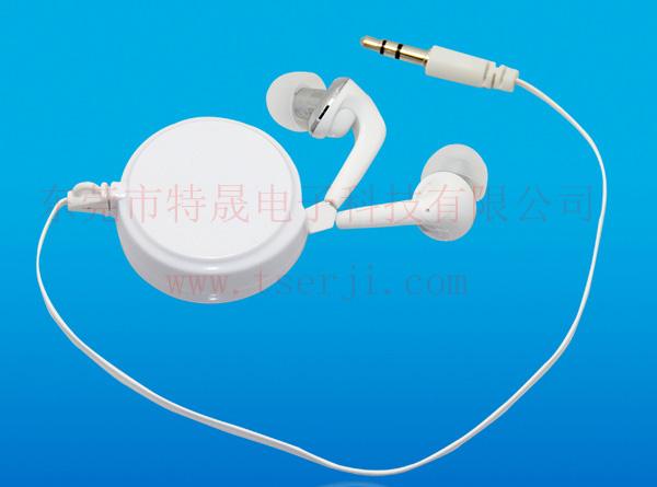 LS-ES-029 单向拉伸伸缩有线耳机
