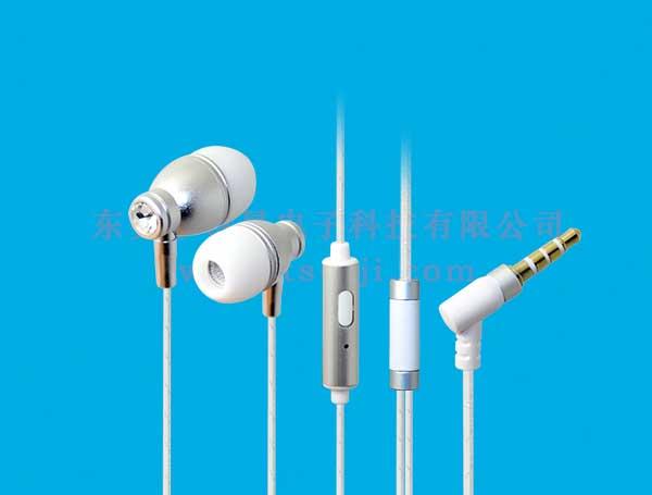 LS-EM-180 入耳式金属免提语音耳机