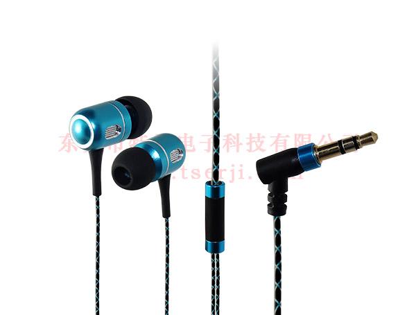 LS-EJ-155 入耳式重低音金属耳机 蛇皮花线