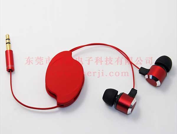 LS-ES-040 双拉伸缩线耳机