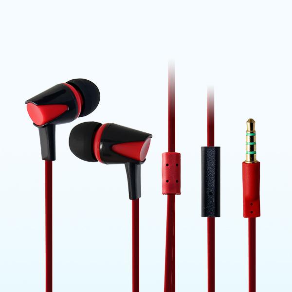 LS-EM-215 塑胶带麦耳机