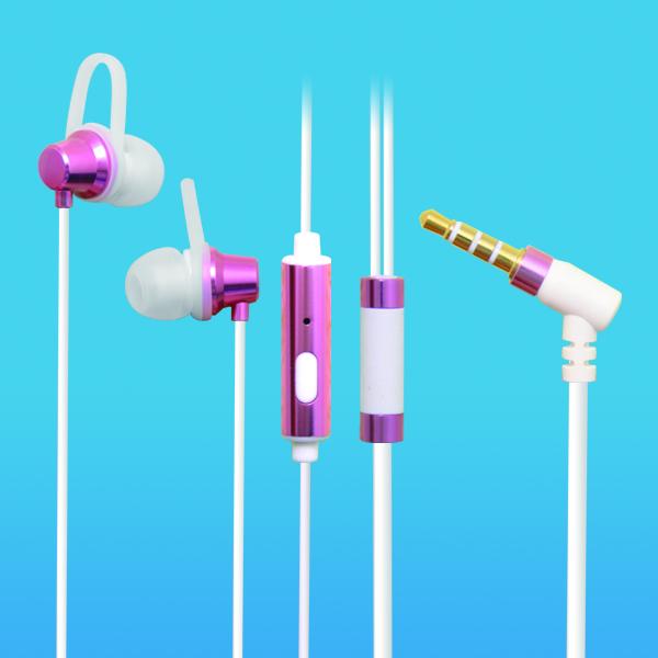 LS-EM-326  入耳式手机MP3可用安卓线控带麦耳机