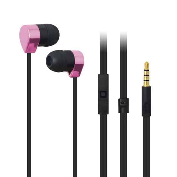 LS-EM-357 入耳式塑胶免提耳机