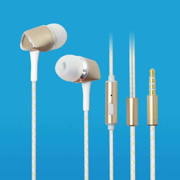 LS-EM-370 入耳式金属耳塞手机免提耳机