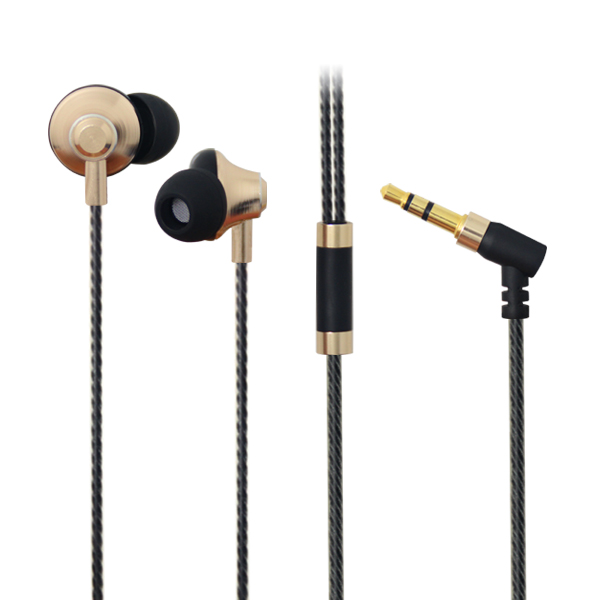 LS-EJ-180 cheap OEM metal earphone wired earbuds