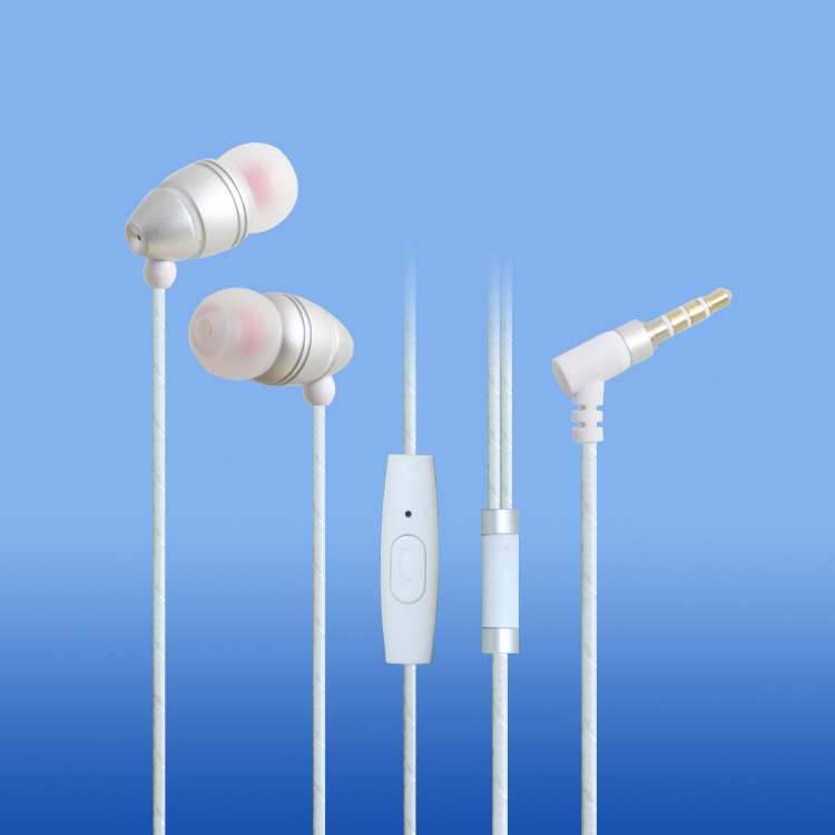 LS-EM-538 Newest metal earbud with mic