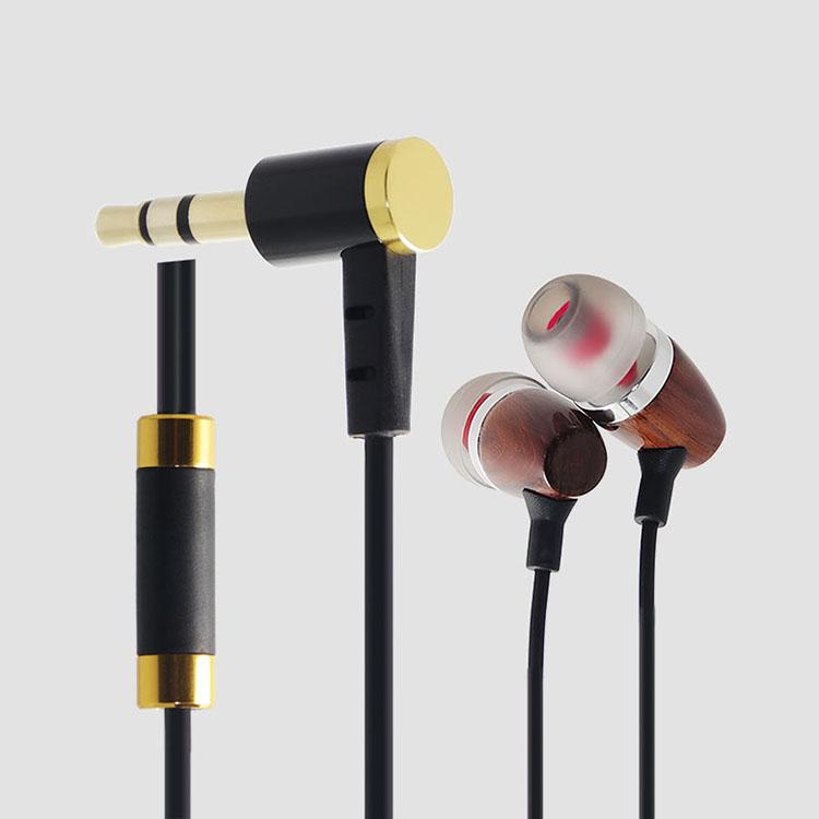 LS-EMT-001 木头耳壳入耳式耳机