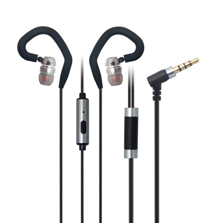 LS-EM-534 best buy sport earphone with detachable ear hook