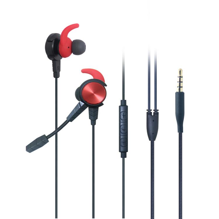 LS-EM-623 电竞手游吃鸡入耳式耳机电脑手机通用带插拔式麦克