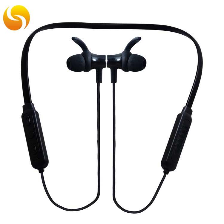 LS-LY-042 真无线5.0双耳蓝牙耳机挂脖耳挂耳机跑步运动式专用