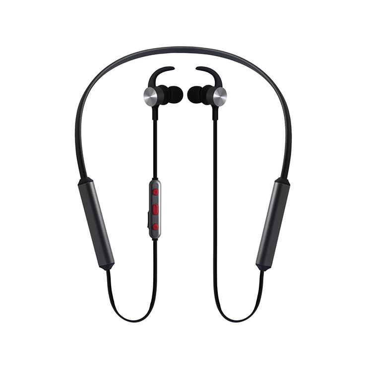 LS-LY-106 超长使用时长脖挂蓝牙 双电池热销耳机 高品质订制