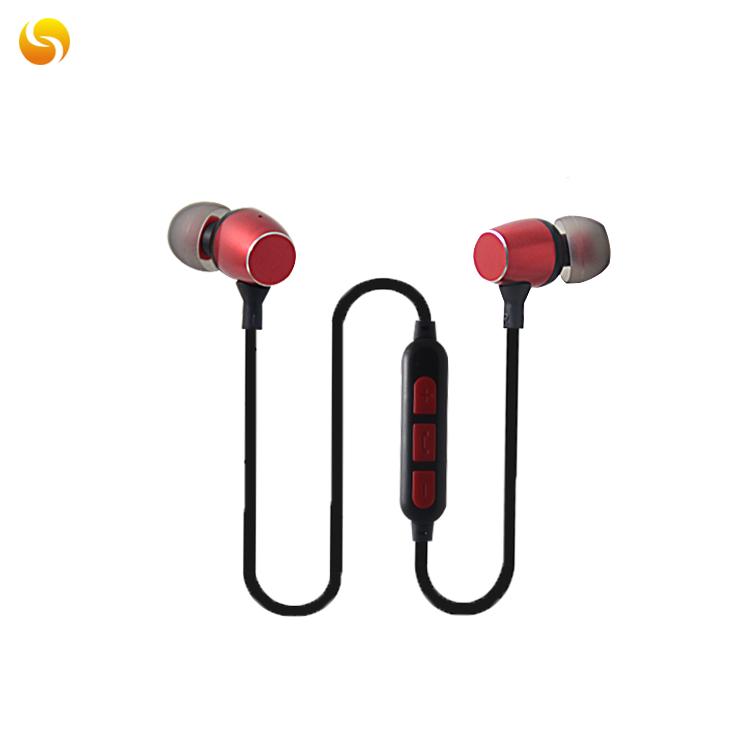 LS-LY-081,入耳式无线蓝牙耳机5.0运动耳机 磁吸 带TF卡