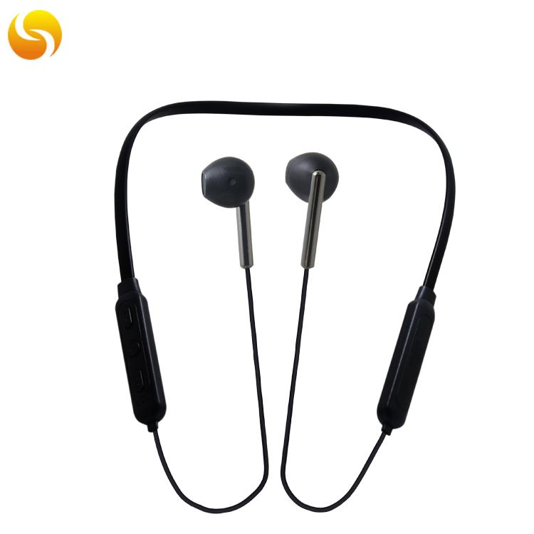 LS-LY-096,无线运动蓝牙耳机5. 0挂脖式深低音蓝牙耳机 劲挂式