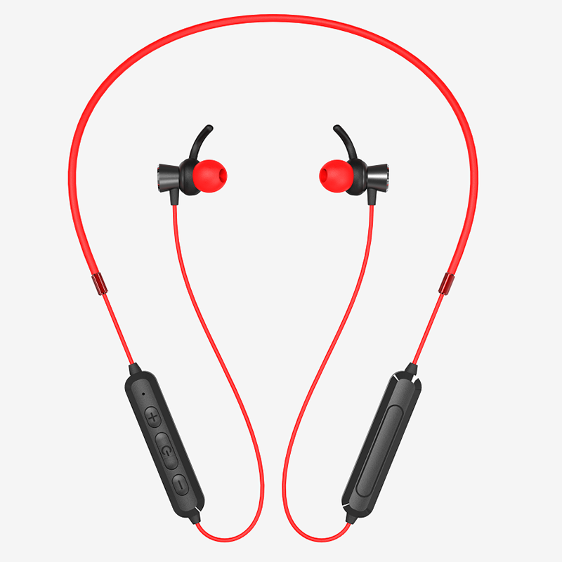 LS-LY-204,新款无线运动蓝牙耳机颈脖挂式双耳式立体声挂脖